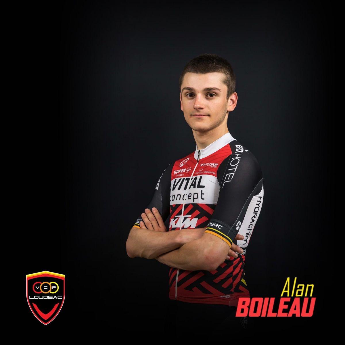 Portrait d'Alan Boileau, nouvelle recrue du VC Pays de Loudéac