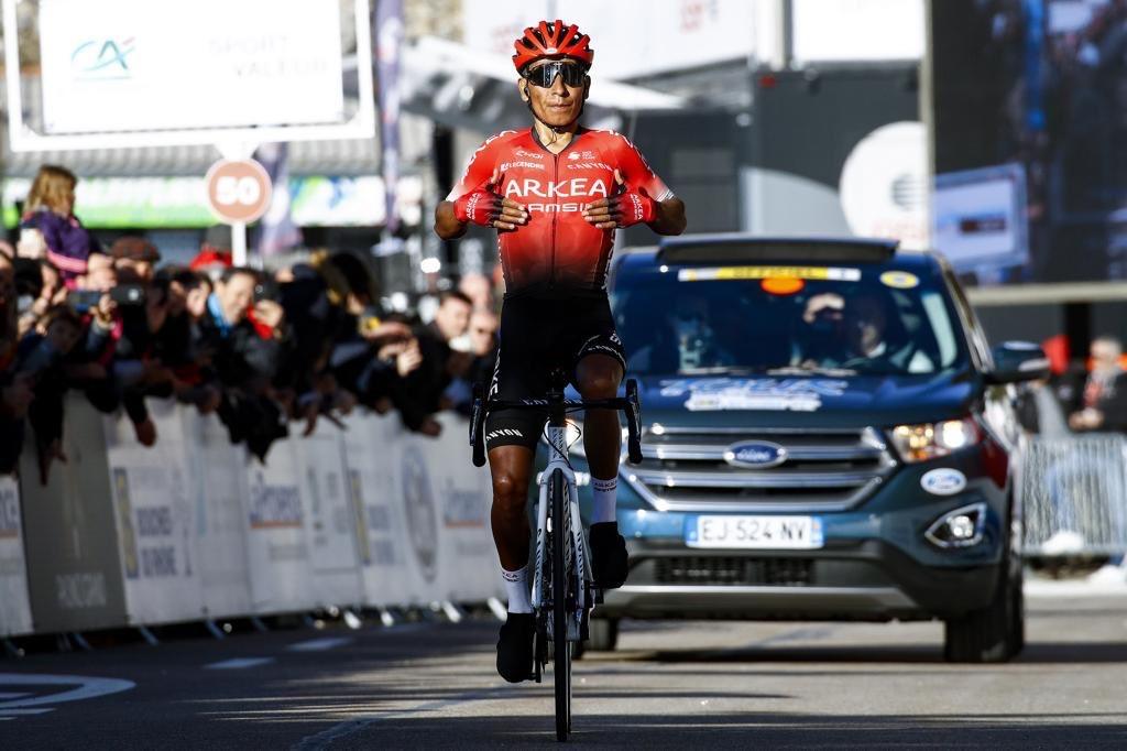 Quintana vainqueur au Ventoux