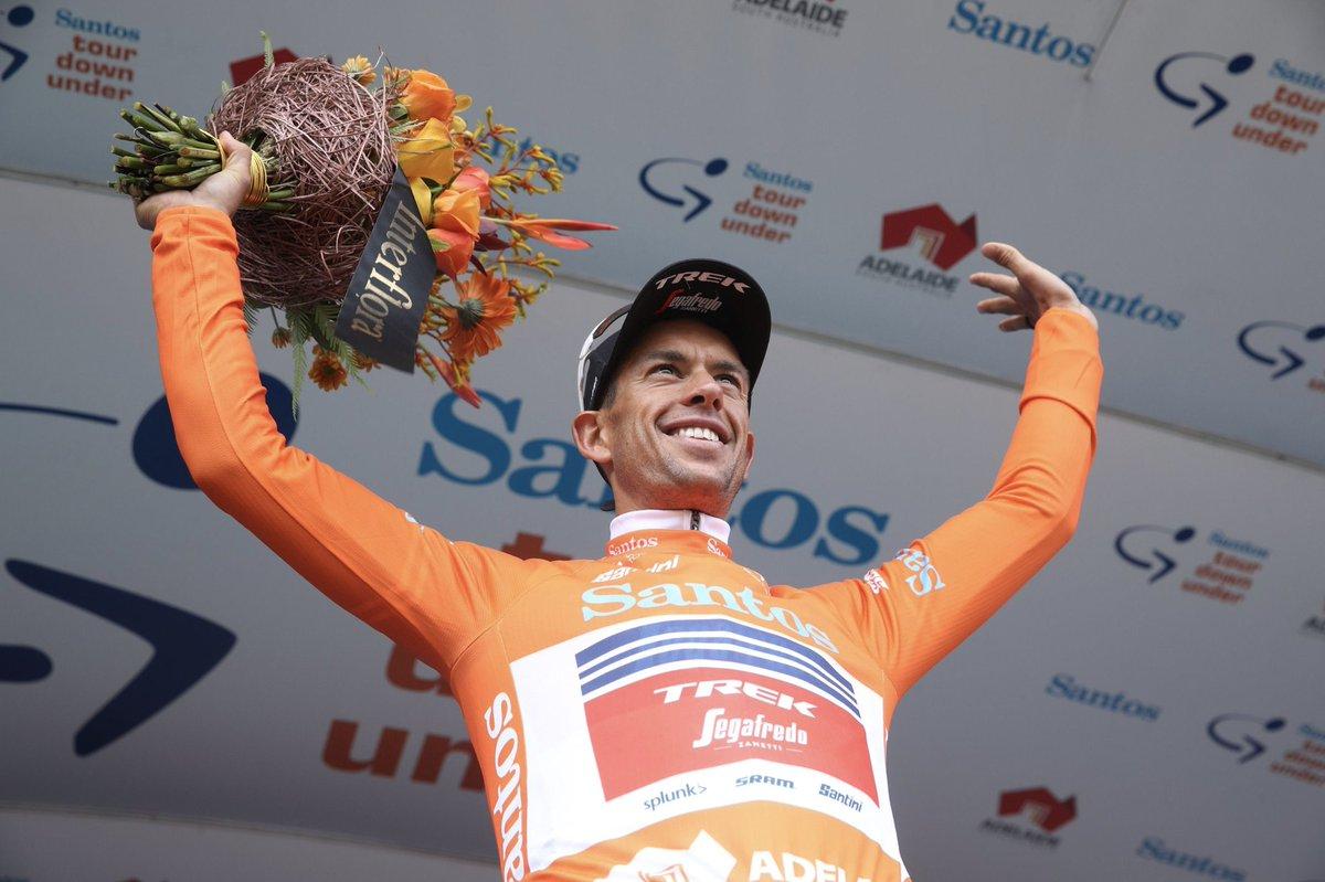 Richie Porte leader du Tour Down Under