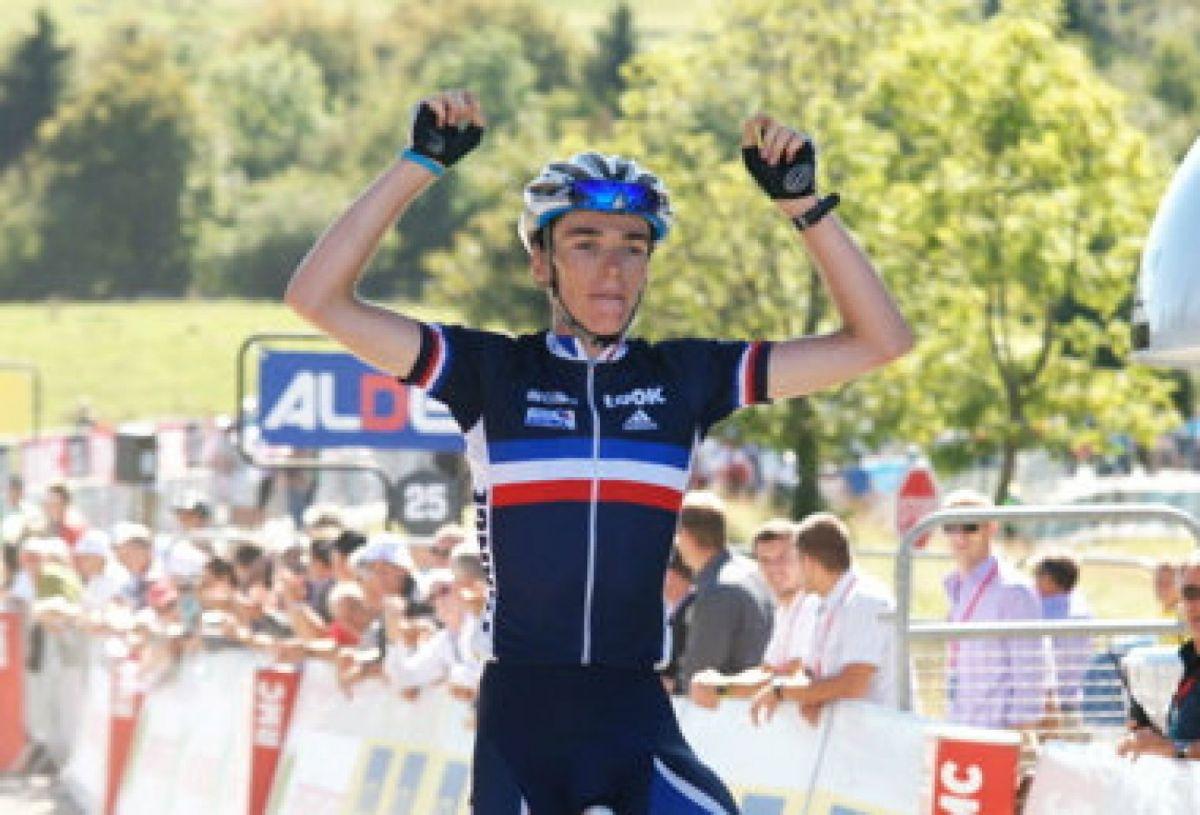 Romain Bardet vainqueur sur la 6e étape du Tour de l'Avenir 2011