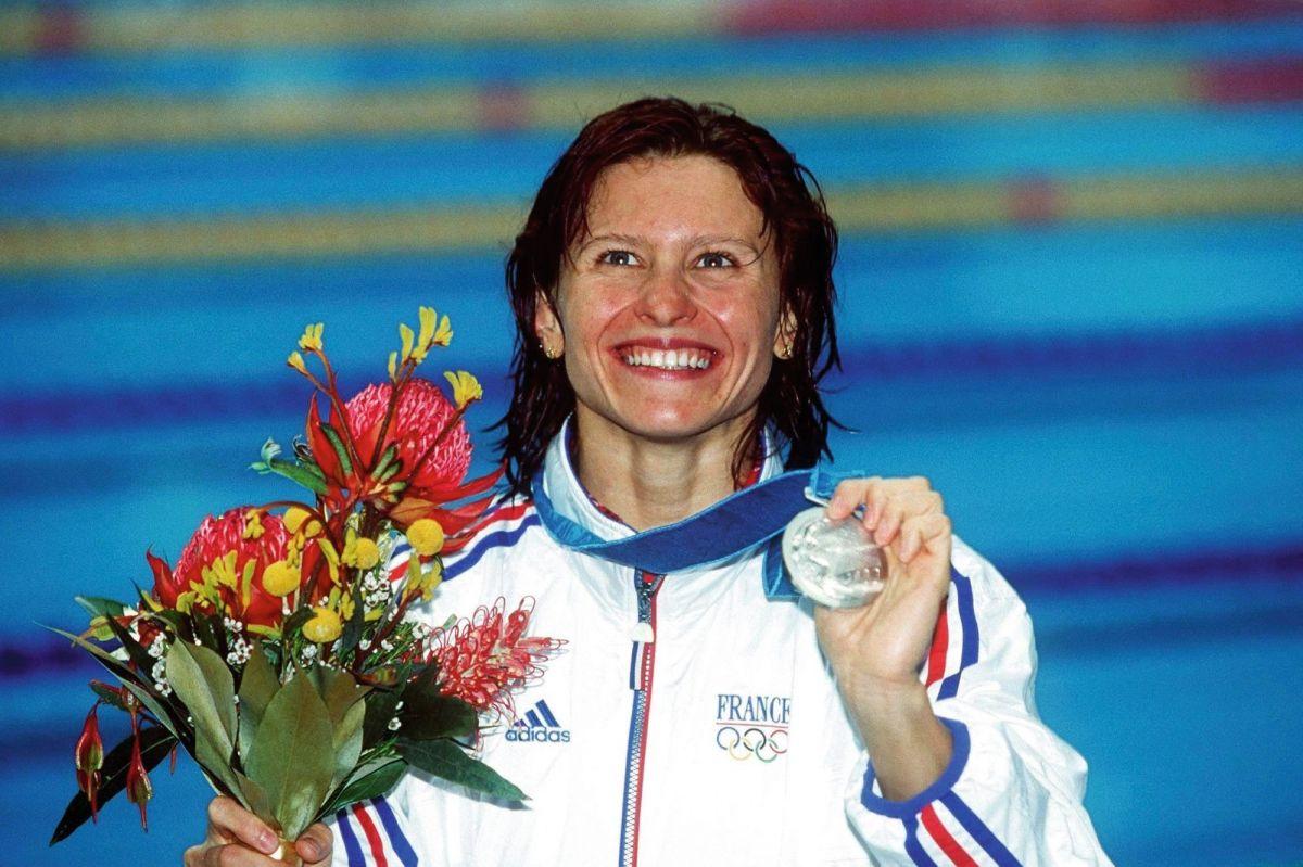 Roxana Maracineanu en argent aux JO 2000 de Sydney