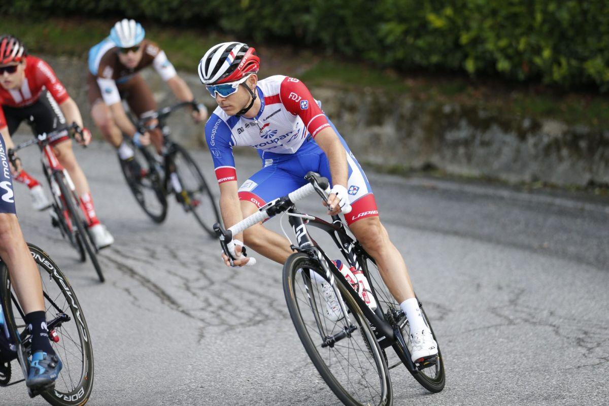 Rudy Molard a décroché son premier top 10 sur un monument lors du Tour de Lombardie 2019