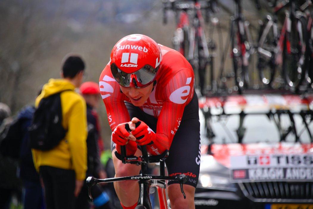 Soren Kragh Andersen remporte le chrono