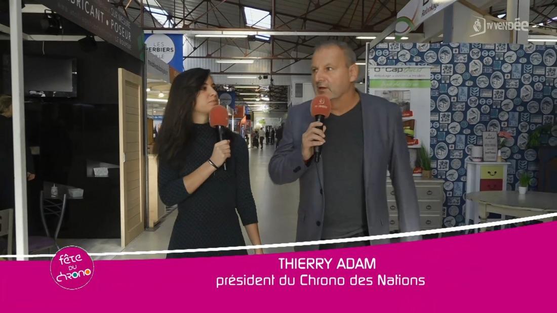 Thierry Adam sur le Chrono des Nations 2019