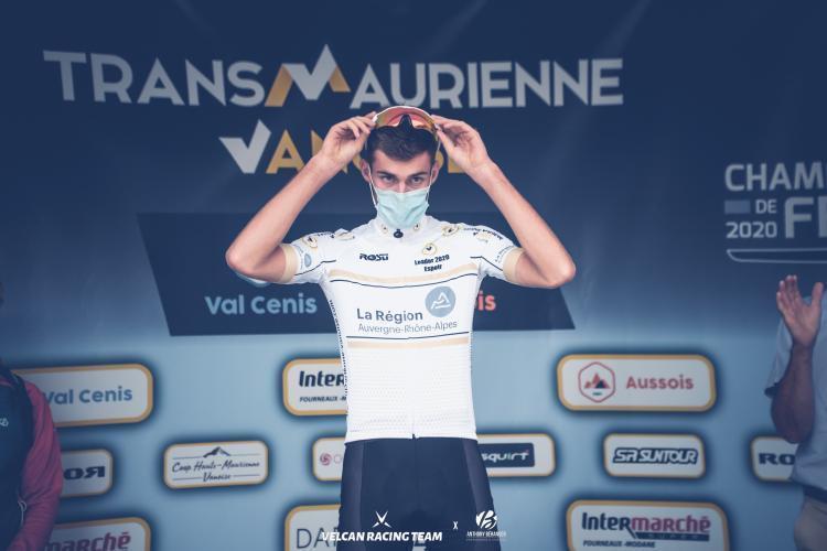 Thomas Champion sur la Trans Maurienne