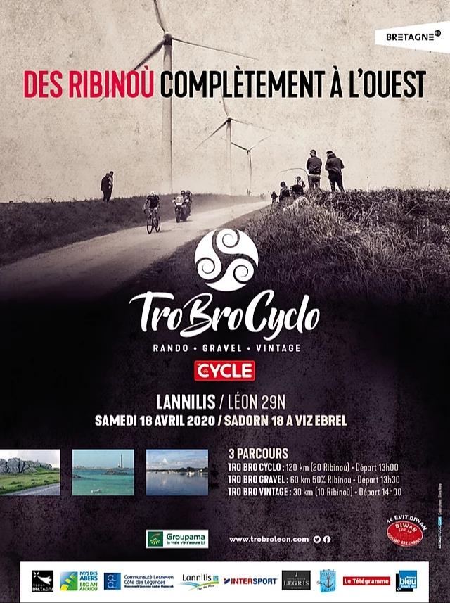 Tro Bro Cyclo 2020 affiche