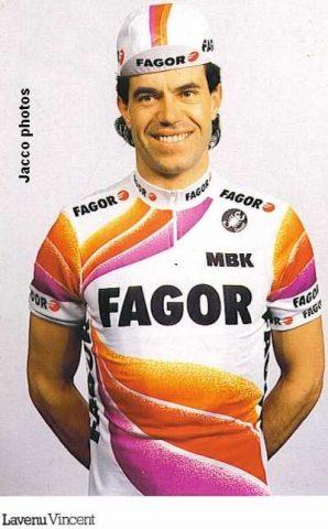 Vincent Lavenu sous les couleurs de l'équipe Fagor