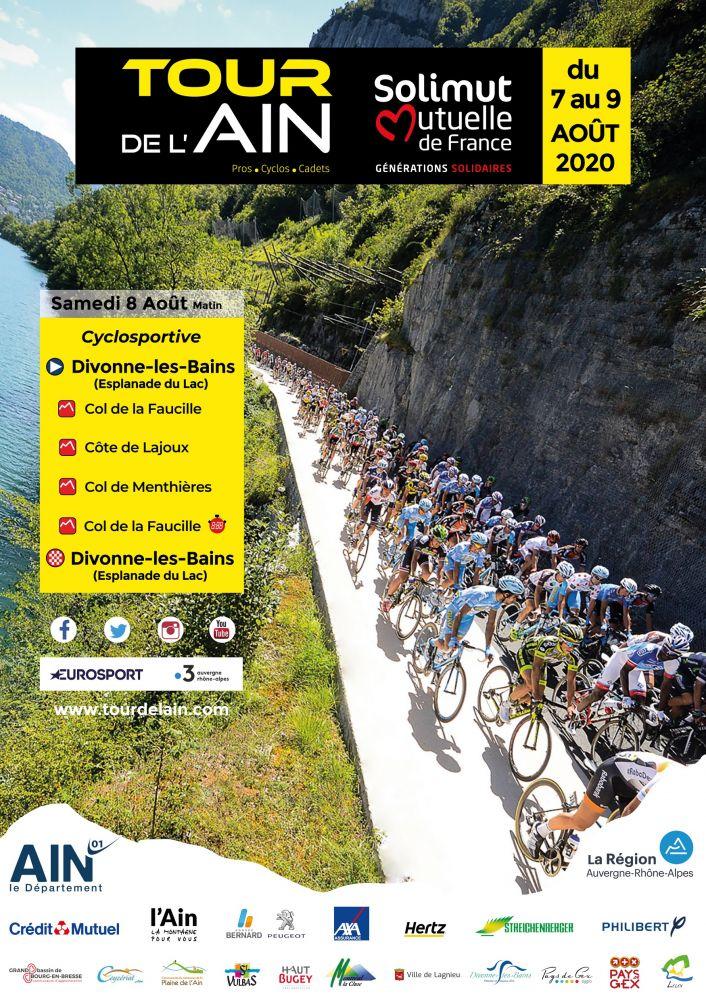 Visuel cyclosportive - Tour de l'Ain 2020