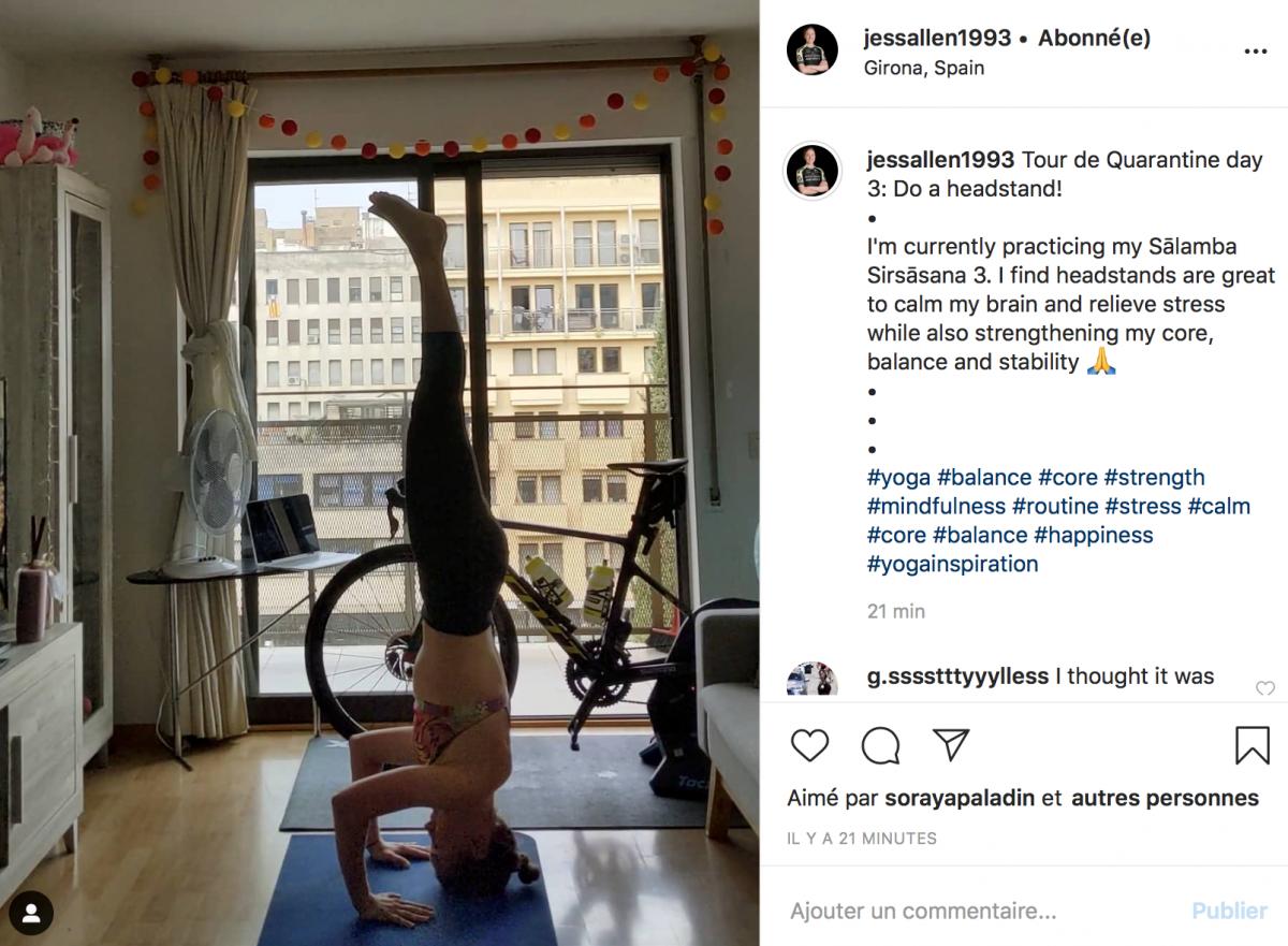 Du yoga au programme