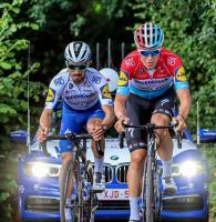 Alaphilippe en reco du Tour des Flandres