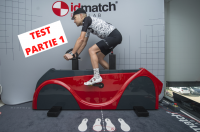 Test de l'étude posturale idmatch Bike Lab - Selle Italia 1/2