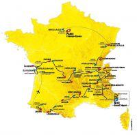 Tour Jour-J : le parcours