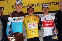 Le podium du général du Tour 06 et 83
