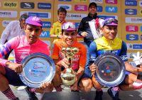Podium du général du Tour de Colombie