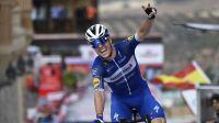 Rémi Cavagna lors de sa victoire sur la Vuelta la saison dernière