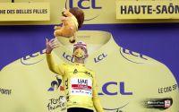 Tadej Pogacar paré du jaune pour le jubilé des Champs-Elysées