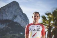 Christophe Laporte sous le maillot du Team Cofidis