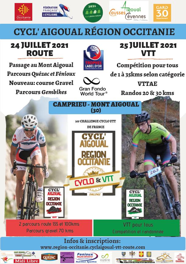 Affiche CyclAigoual 2021