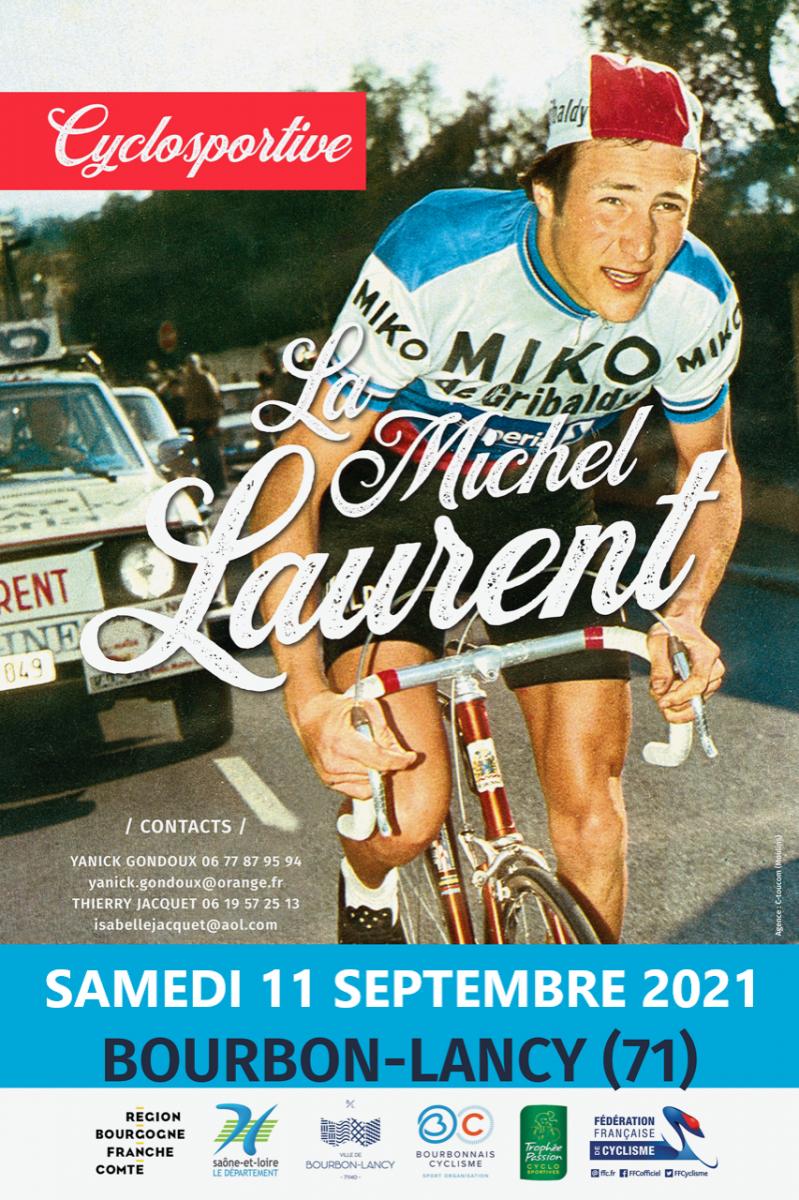 AFFICHE LA MICHEL LAURENT 2021 REPORT 11-09