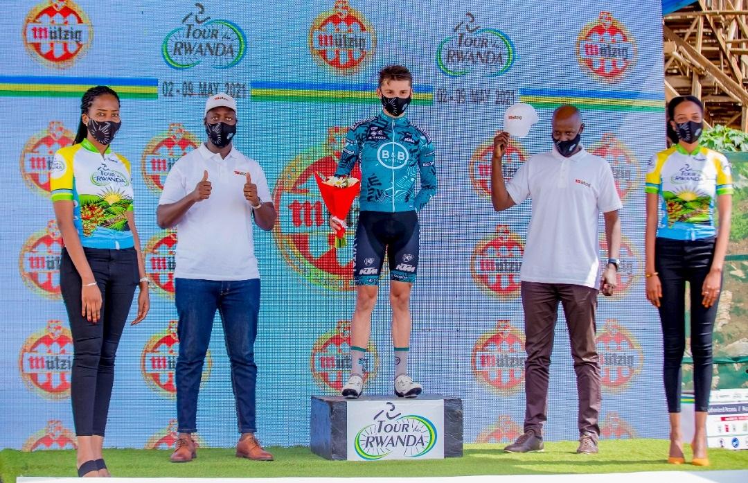 Alan Boileau vainqueur d'étapes au Rwanda