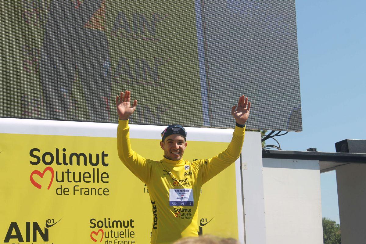 Alvaro Hodeg - Maillot jaune
