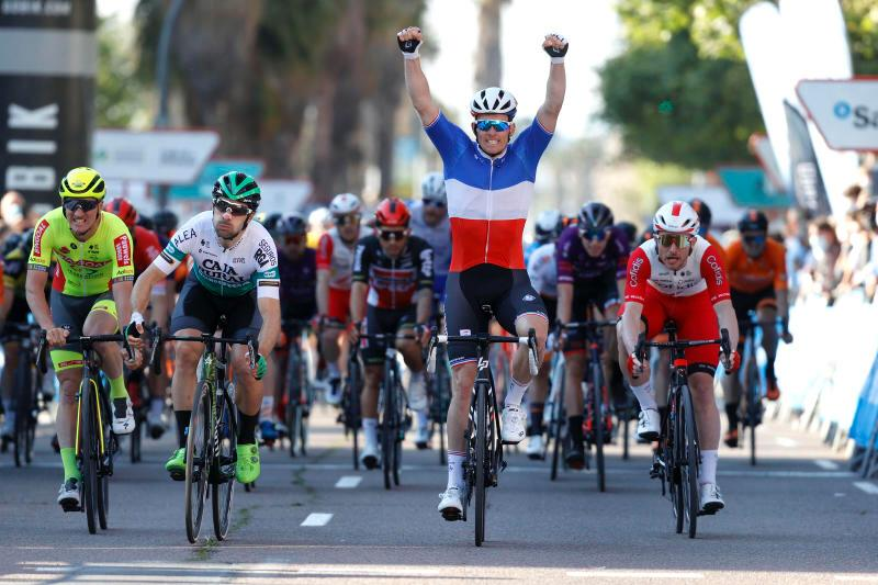 Arnaud Démare vainqueur à Valence