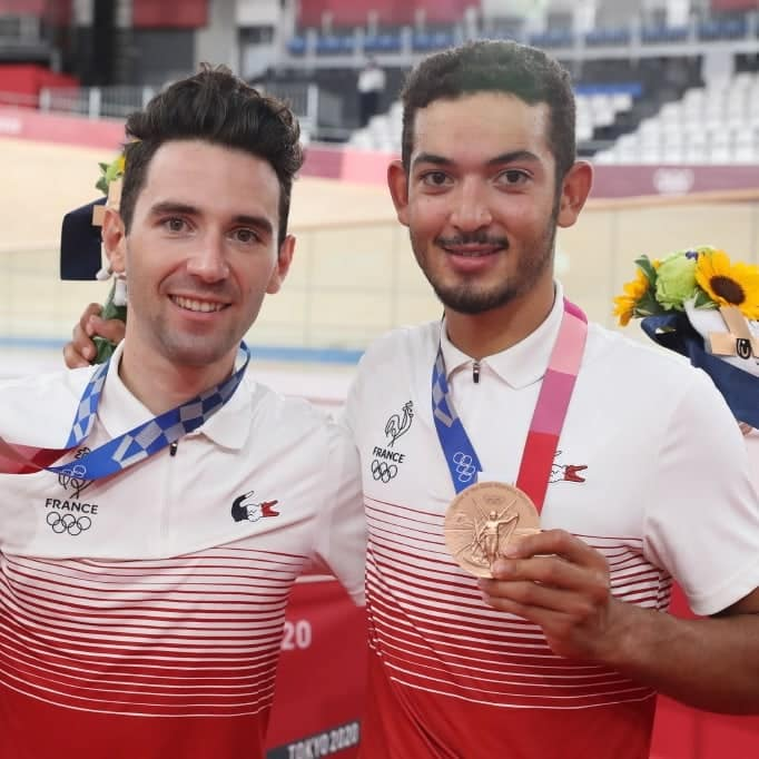 Benjamin Thomas et Donovan Grondin médaillés de bronze en américaine