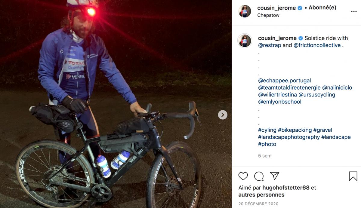 Bike-packing de nuit