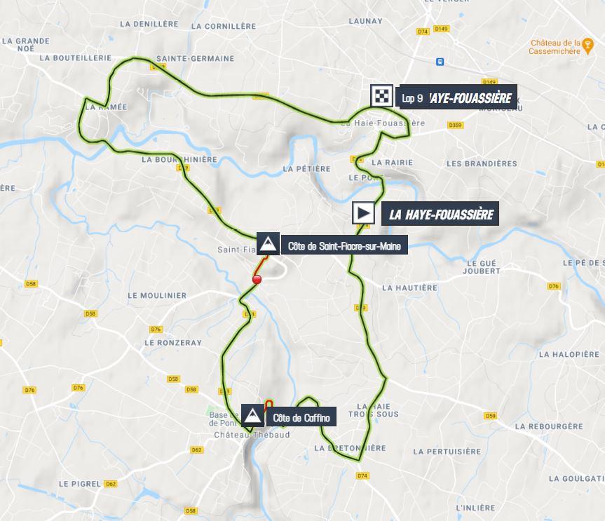 Classic routes of the Loire atlantique