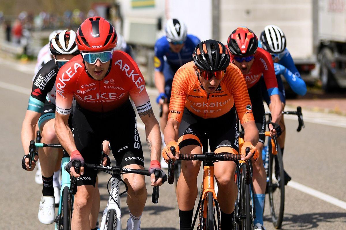 Elie Gesbert au Tour de Catalogne