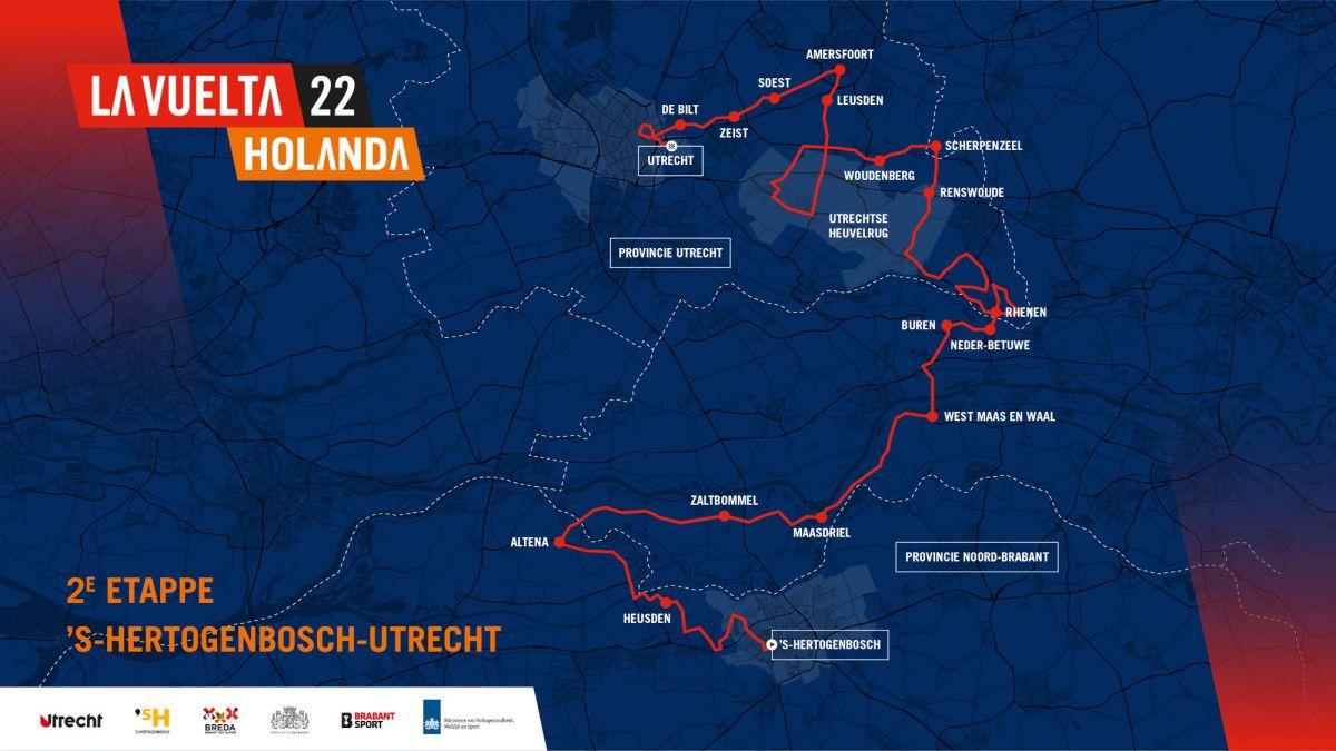 etape 2 vuelta 2022 parcours