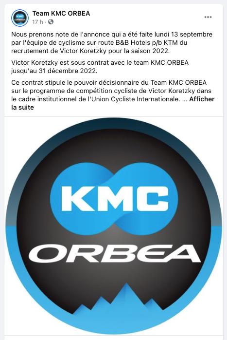 kmc orbea facebook
