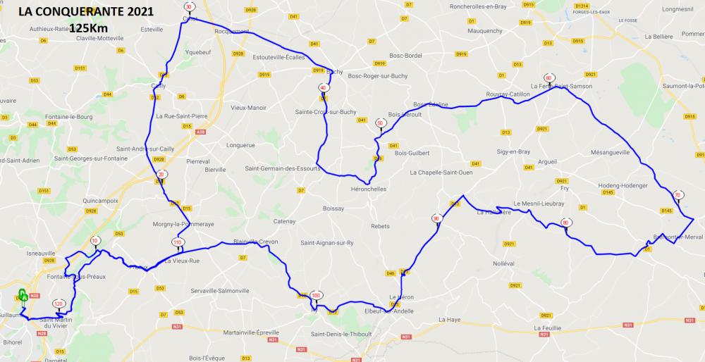 La Conquérante 2021 125 km