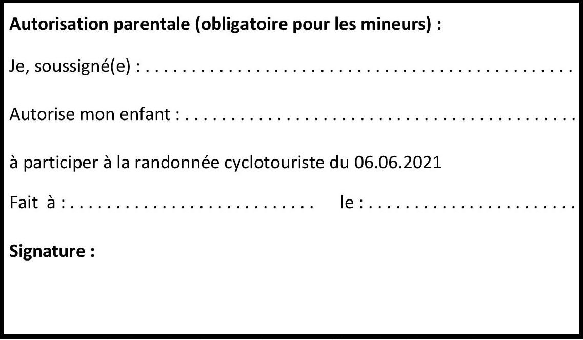 La Conquérante 2021_Autorisation parentale