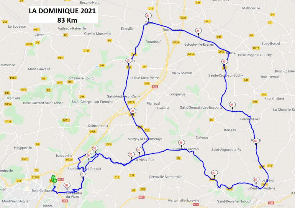 La Conquérante 2021_La Dominique 2021 83km
