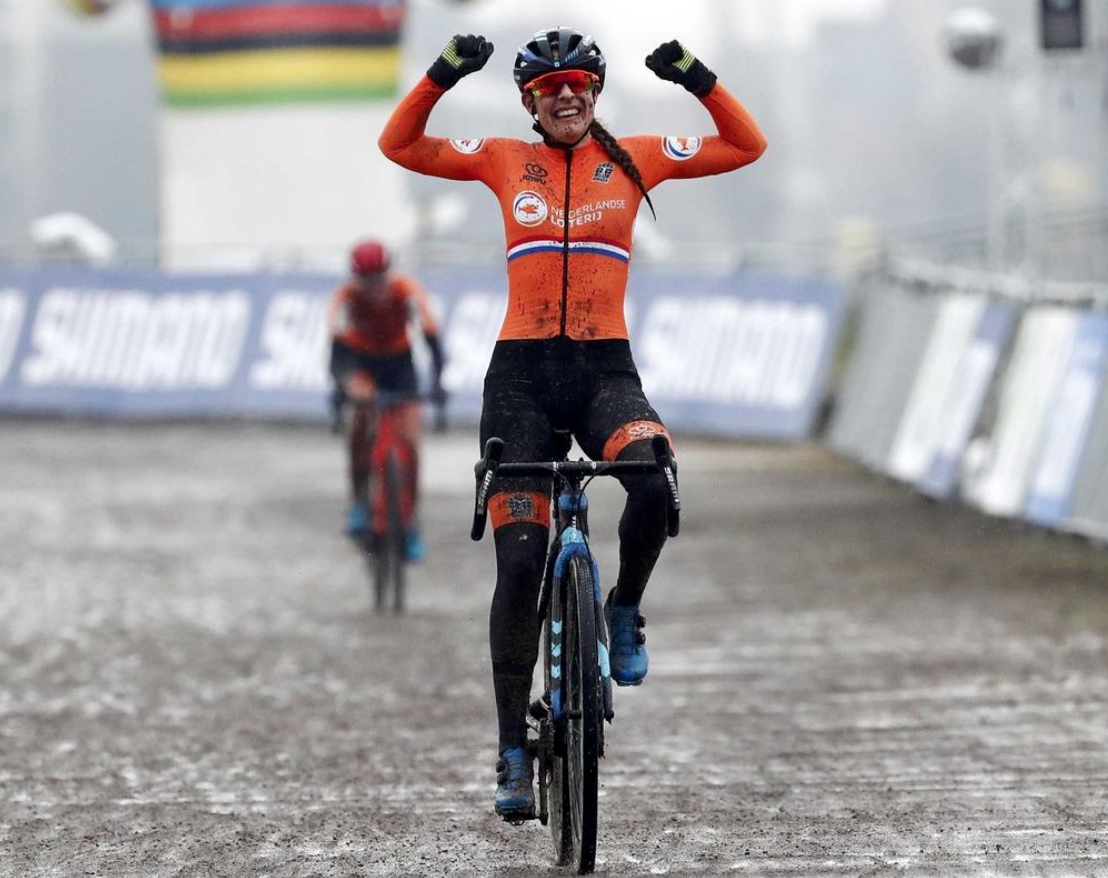 Lucinda Brand Championne du Monde de cyclo-cross 2021