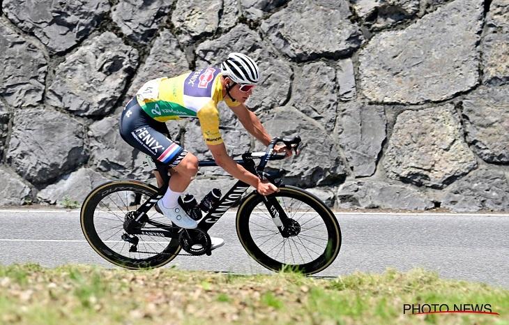 Mathieu Van der Poel aimerait troquer le jaune du Tour de Suisse contre le jaune du Tour de France