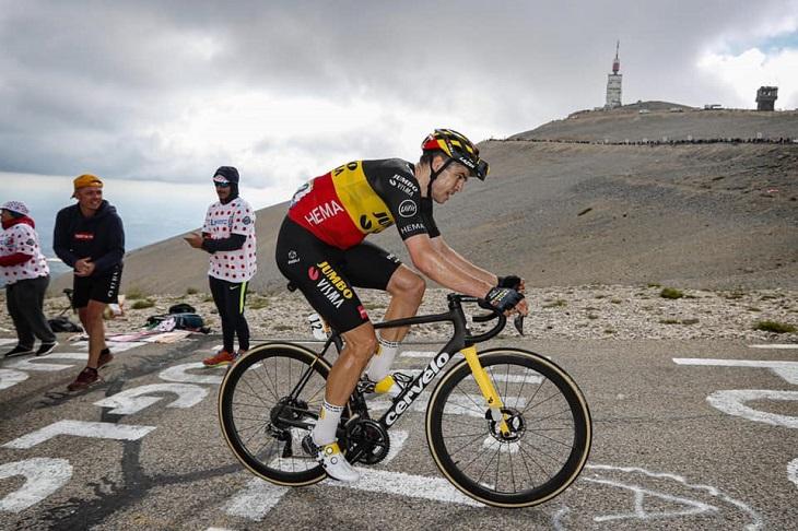 Même pour réussir sur le Mont Ventoux, l'échauffement est indispensable