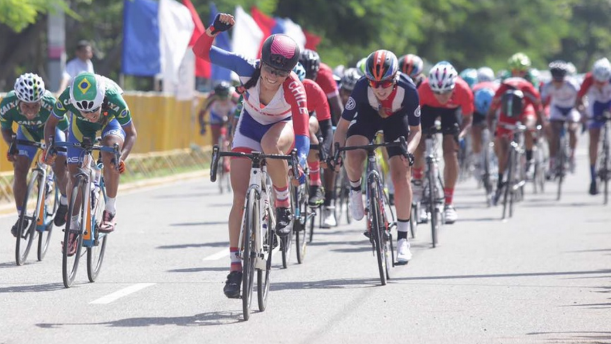 Paola Munoz s'impose au sprint au terme de la dernière édition des championnats panaméricains, en République Dominicaine