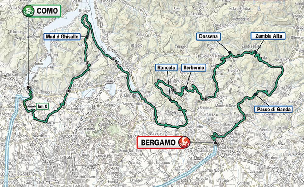 parcours tour de lombardie 2021