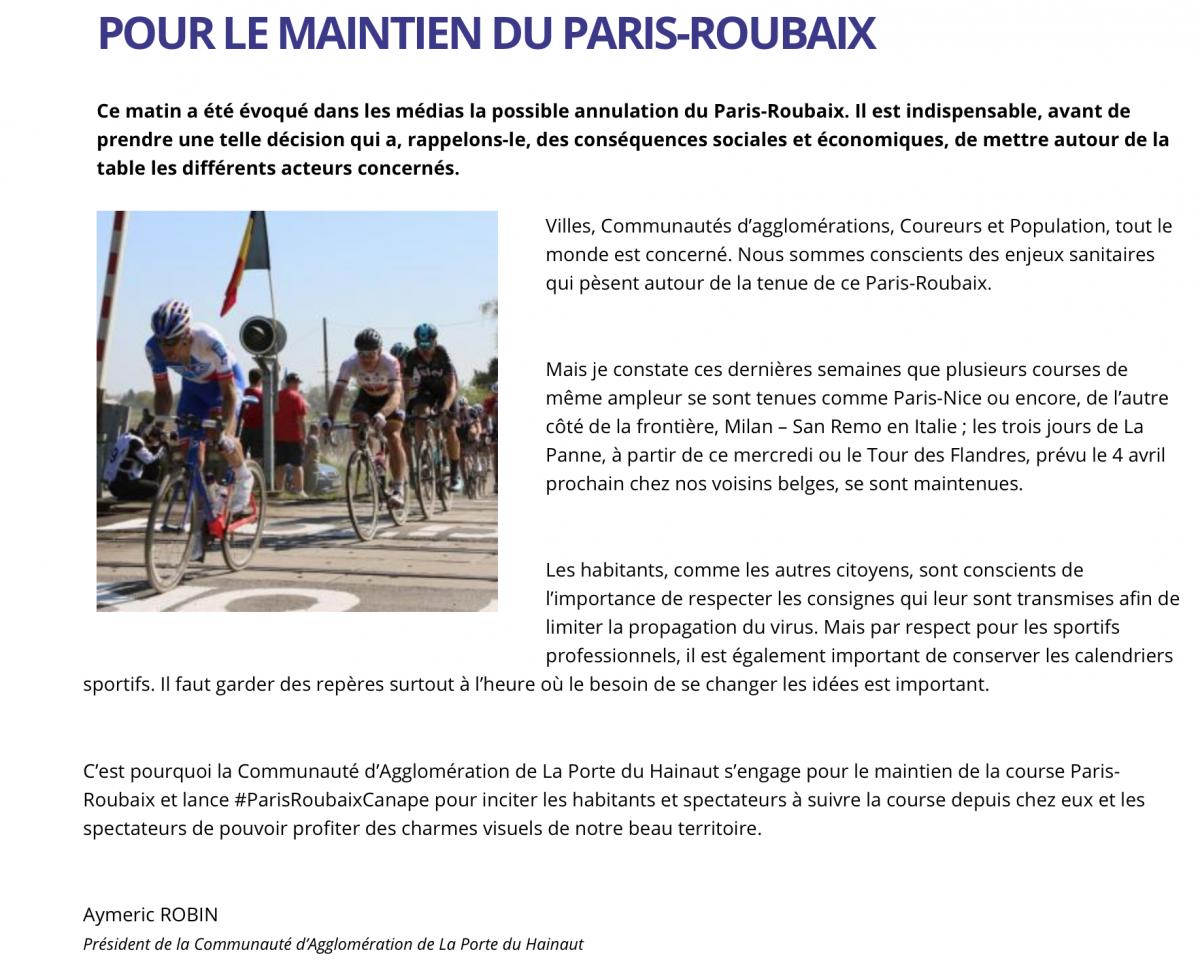 Paris Roubaix Canape