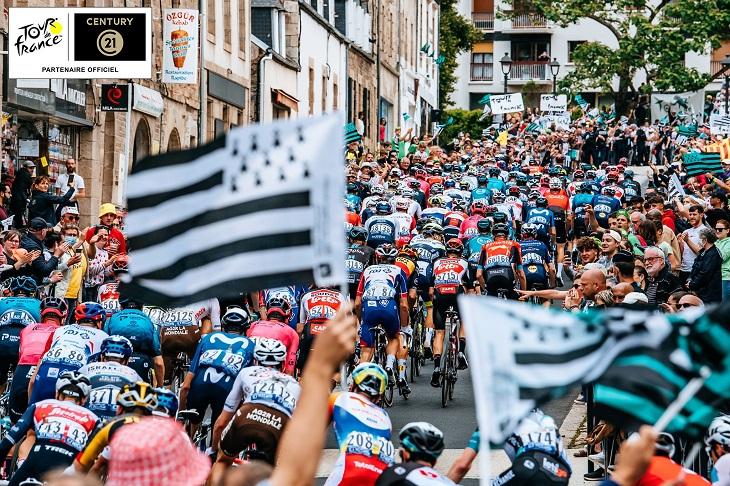 Passage du Tour de France 2021 en Belgique