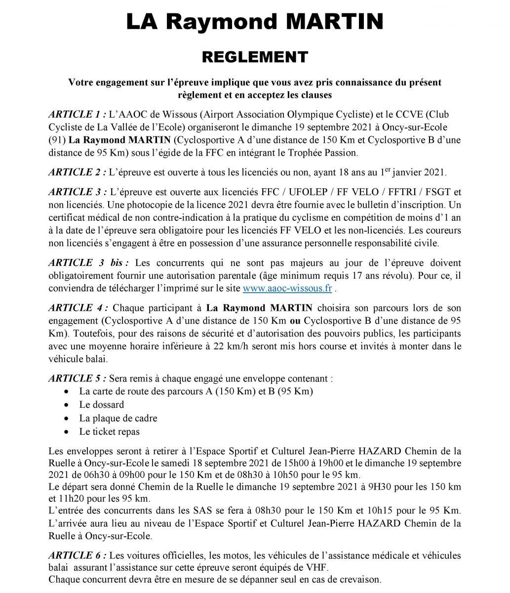 Reglement de La Raymond Martin 2021-page-001