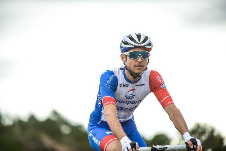 Rudy Molars leader sur le Giro