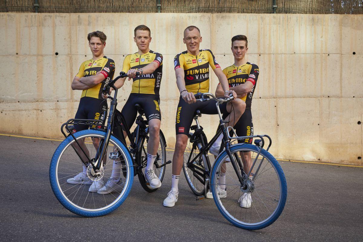 Team Jumbo-Visma et Swapfiets