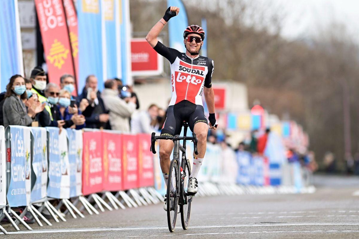 Tim Wellens vainqueur du général de l'Etoile de Bessèges