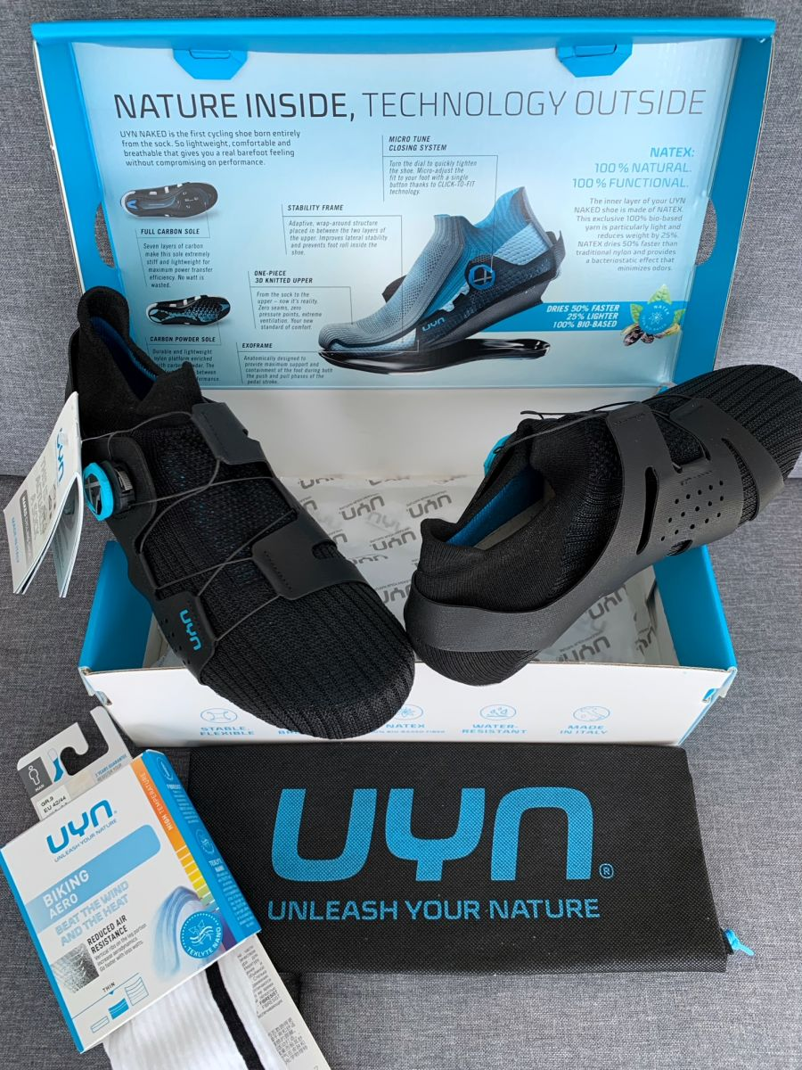 UYN naked carbon chaussure route