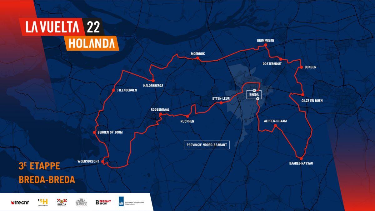 vuelta 2022 parcours étape 3