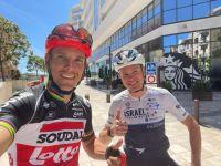 Philippe Gilbert et Chris Froome ont partagé une sortie d'entraînement