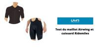 Test du maillot UYN Airwing et cuissard Ridemiles